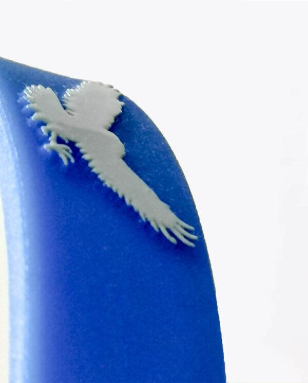 Opaska Orzeł Łódź przybliżenie na orła