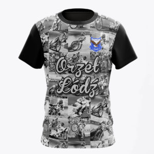 Koszulka orzeł łódź mozaika