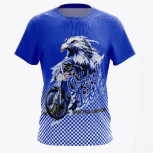 Niebieska koszulka Orzeł Łódź