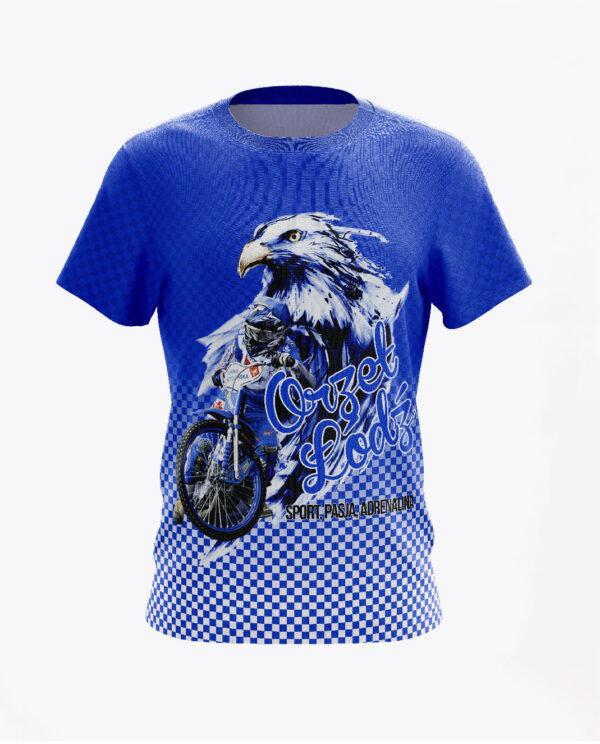 Orzeł Prezentacja Koszulka Niebieska