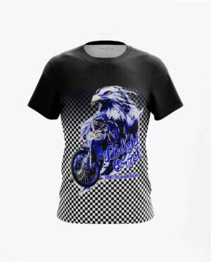 Koszulka Orzeł Łódź Prezentacja Czarna