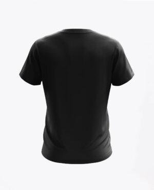 Tyl koszulki Orzel Lodz Prezentacja Czarna.